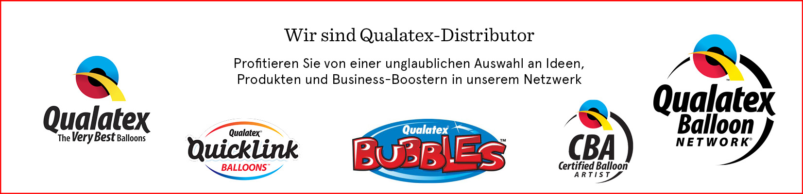 Qualatex Distributor