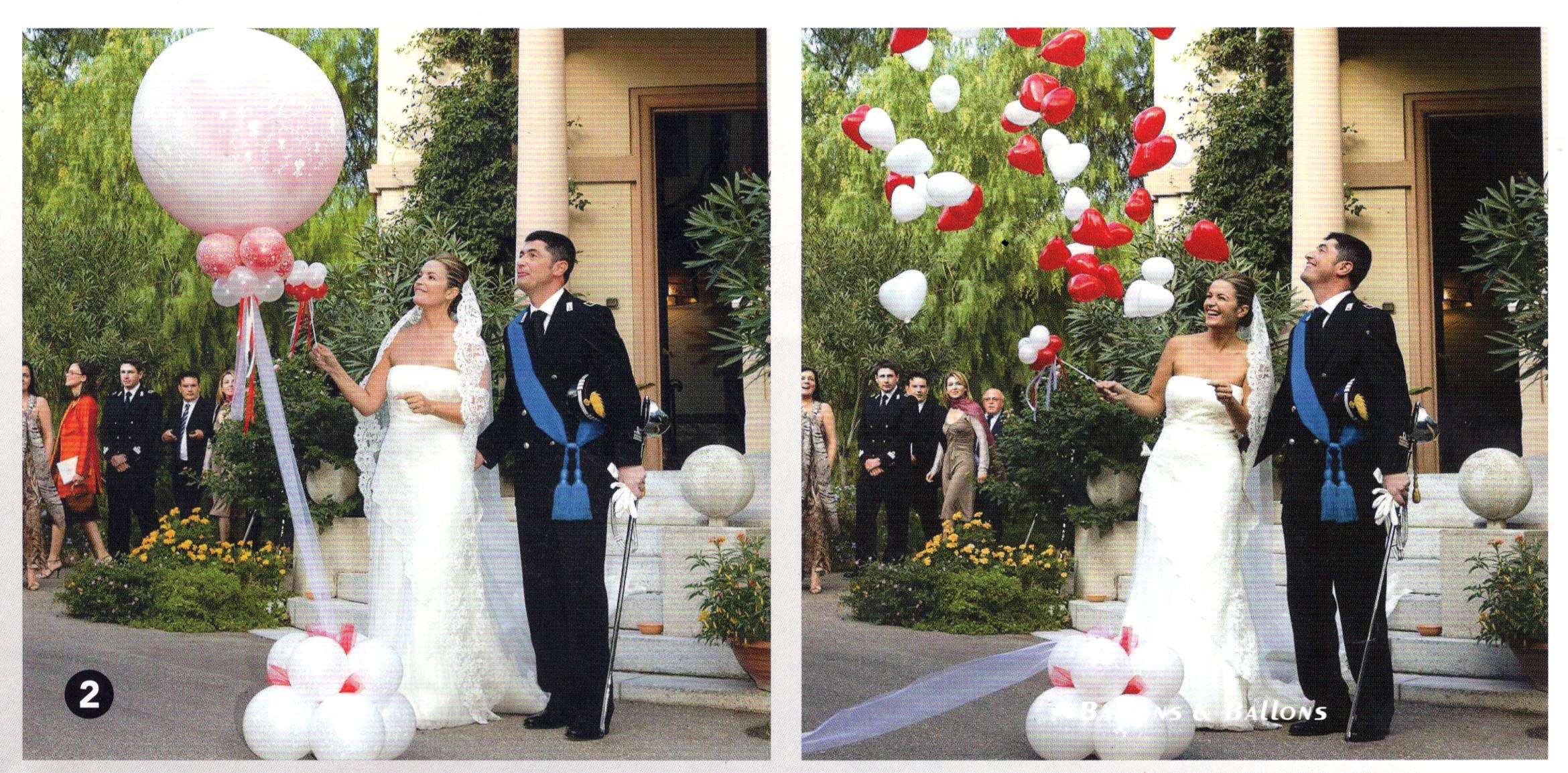 Double Stuffed Balloon Bouquet WeddingWM